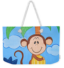 Jungle Monkey Weekender Tote Bag