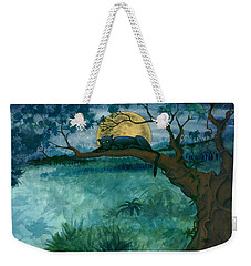 Jungle Panther Weekender Tote Bag