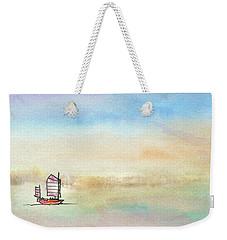 Junk Sailing Weekender Tote Bag by R Kyllo