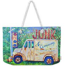 Junk Truck Weekender Tote Bag