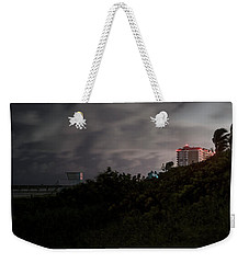 Weekender Tote Bag featuring the photograph Juno Beach by Laura Fasulo