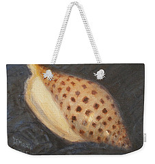 Weekender Tote Bag featuring the painting Junonia by Donelli  DiMaria