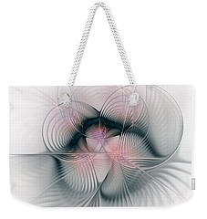 Junos Mercy - Fractal Art Weekender Tote Bag by NirvanaBlues