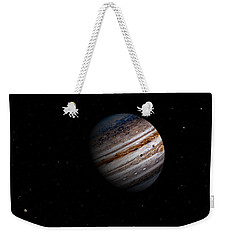 Jupiter And It 4 Major Moons Weekender Tote Bag