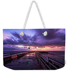 Jupiter Inlet Jetty Weekender Tote Bag