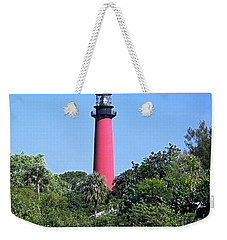Jupiter Lighthouse Weekender Tote Bag