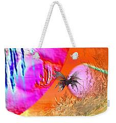 Jupiter's Cousin Weekender Tote Bag