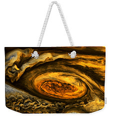 Jupiter's Storms. Weekender Tote Bag