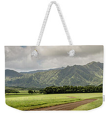 Jurassic Kahili Ranch Panorama Weekender Tote Bag