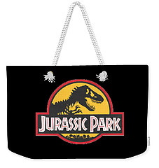 Jurassic Park T-shirt Weekender Tote Bag by Herb Strobino