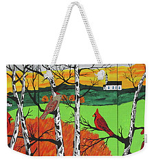 Just A Beautiful Day Weekender Tote Bag