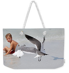 Just A Day At The Beach Jdabp Weekender Tote Bag