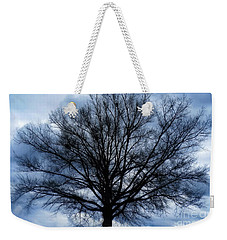Weekender Tote Bag featuring the photograph Just A Gray Blue Day by Sue Melvin