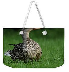 Just A Happy Duck Weekender Tote Bag