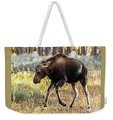 Weekender Tote Bag featuring the photograph Just A Kick In The Pants by Yeates Photography