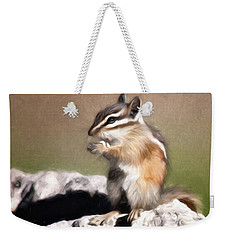 Just A Little Nibble Weekender Tote Bag by Lana Trussell