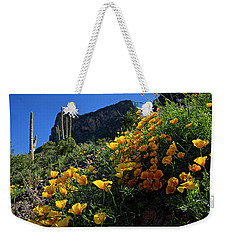 Just A Little Sunshine Weekender Tote Bag by Lucinda Walter