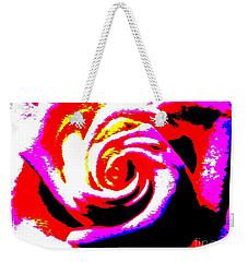 Just A Rose Weekender Tote Bag