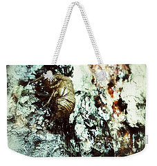 Weekender Tote Bag featuring the photograph Just A Shell by Robert Knight
