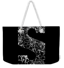 Weekender Tote Bag featuring the photograph Just An S by Wendy Wilton