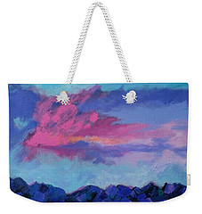 Just Another Blue Sky Weekender Tote Bag