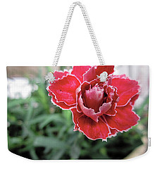 Just Another Pretty Flower Weekender Tote Bag by John Rossman