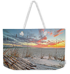 Just Another South Walton Sunset Weekender Tote Bag by JC Findley