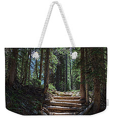 Weekender Tote Bag featuring the photograph Just Another Stairway To Heaven by James BO Insogna