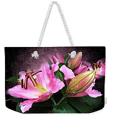 Just Beautiful  Weekender Tote Bag