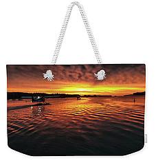 Just Before Sunrise Weekender Tote Bag