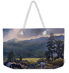 Just Before The Rain Weekender Tote Bag