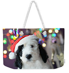 Weekender Tote Bag featuring the photograph Just Believe by Linda Mishler