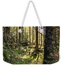 Weekender Tote Bag featuring the photograph Just Beyond  by Geoff Smith