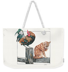 Just Chillin Weekender Tote Bag