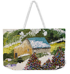 Just Down The Hill Weekender Tote Bag by John Williams
