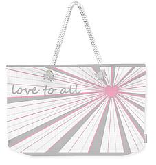 Just Hearts 5 Weekender Tote Bag