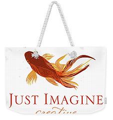 Just Imagine Weekender Tote Bag