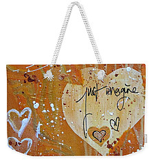 Just Imagine Weekender Tote Bag