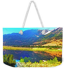 Just Like Glass Weekender Tote Bag