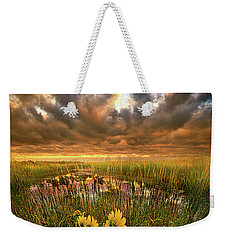 Just Moving Slow Weekender Tote Bag by Phil Koch
