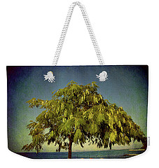Weekender Tote Bag featuring the photograph Just One Tree by Milena Ilieva