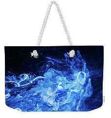 Just Passing By - Blue Art Photography Weekender Tote Bag