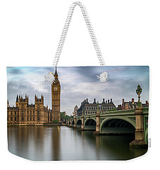 Just Past Six Weekender Tote Bag