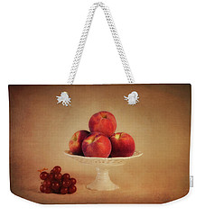 Just Peachy Weekender Tote Bag by Tom Mc Nemar