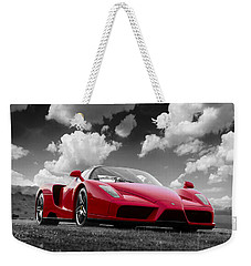 Just Red 1 2002 Enzo Ferrari Weekender Tote Bag