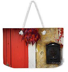 Just Red Weekender Tote Bag