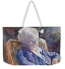 Just Resting My Eyes Weekender Tote Bag