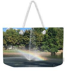 Just Right Weekender Tote Bag