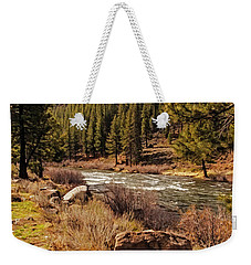 Just Rolling Along Weekender Tote Bag by Nancy Marie Ricketts