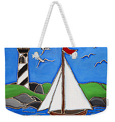 Just Sailing By Weekender Tote Bag